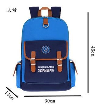 Student Backpack Children 2017 New High New Design Quality School Bags for Boys Girls Children Backpacks Primary Students Backpacks Schoolbag Kids Books AT_49_3