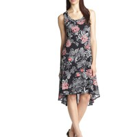 Karen Kane Women's French Mesh Dress, Floral