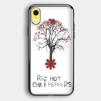 Tree Of Red Hot Chili Peppers iPhone XR Case | Casefruits