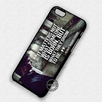 Harry Potter Dumbledore - iPhone 7 Plus 6 5 4 Cases & Covers