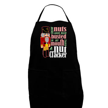 More Nuts Busted - My Mouth Plus Size Apron by