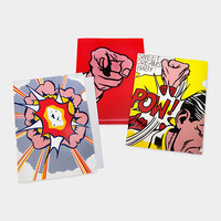 Roy Lichtenstein: Comics File Folders