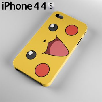 Pokemon Pikachu Case For iPhone 4 / 4S, 5 / 5S, 6 / 6S, 6 Plus / 6S Plus
