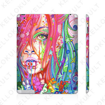 iPad 2 Skin biPolar by Marlene Freimanis by kellokult on Etsy