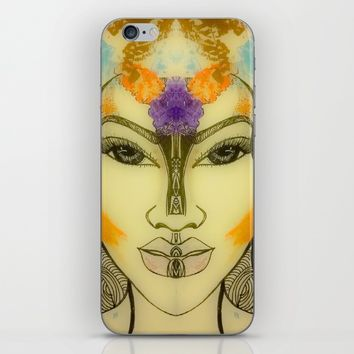 AUTUMNS STORM iPhone & iPod Skin by violajohnsonriley