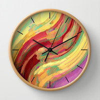 Distant Disaster Wall Clock by Fringeman