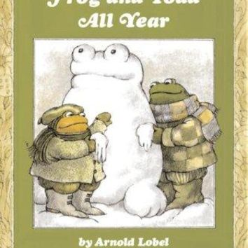 Frog and Toad All Year An I Can Read Book Reprint
