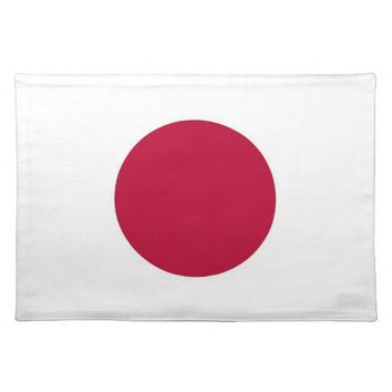 Japanese Flag on MoJo Placemat
