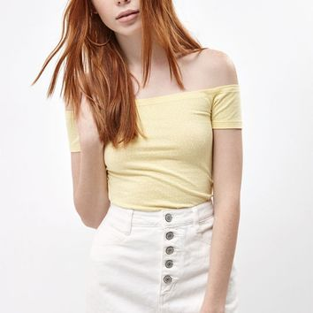 PS Basics by Pacsun Spring Break Off-The-Shoulder Top at PacSun.com