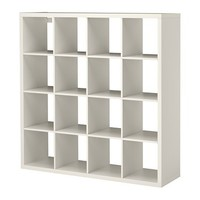 KALLAX Shelving unit Oak effect 147x147 cm - IKEA