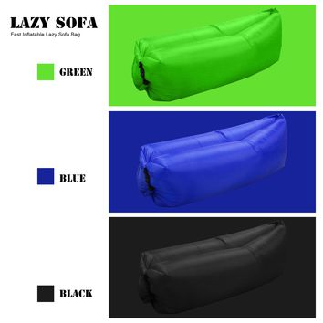 Fast Inflatable Lazy Sofa Bag Laybag Sleeping Bag Air Sleep Camping