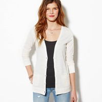 AEO Women's Lightweight Boyfriend Cardigan