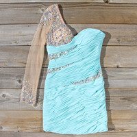Spool Couture Athena Dress in Mint