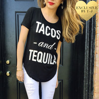 Tacos and Tequila Flowy Tee