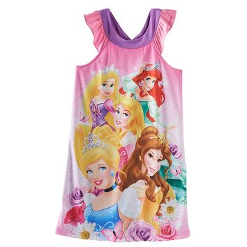 Disney Princess Group Nightgown - Girls, Size: