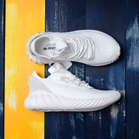 [ Free  Shipping ] Adidas Originals Tubular Doom Sock PK PrimeKnit White Shoes BY3566  Running   Sneaker