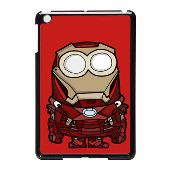 Minion Parody Iron Man Despicable Me iPad Mini Case