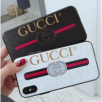 GUCCI Trending Fashion Casual iPhone Phone Cover Case For iphone 6 6s 6plus 6s-plus 7 7plus hard shell G