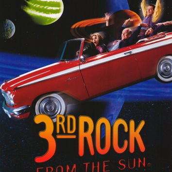 3rd Rock from the Sun 11x17 TV Poster (1996)