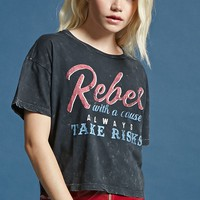 Rebel Cropped Tee