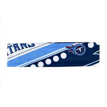 NFL Tennessee Titans Stretch Headband Womens Ladies  NFL Team Apparel