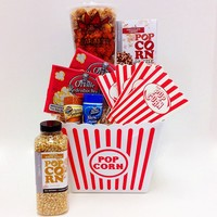 Fifth Avenue Gourmet Family Movie Night Gift Set (White/Caramel/Chocolate)
