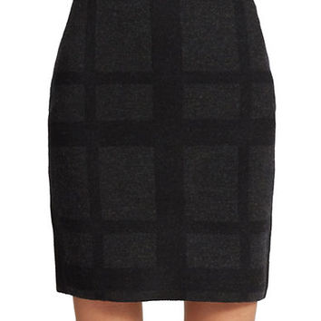 Eileen Fisher Petite Merino Wool Knit Skirt