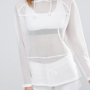 South Beach Mesh Hoody at asos.com