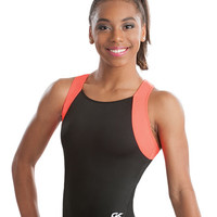 Orange Glo Racerback Camp Leotard from GK Elite