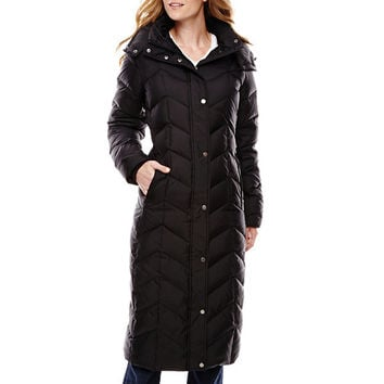 St. John's Bay® Commuter Down Coat - JCPenney