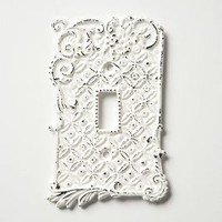 Tin Roof Switch Plate, Single by Anthropologie White Single Hardware