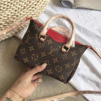 Louis Vuitton LV Nano Pallas Mini Tote Crossbody Shoulder Bag
