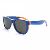 Mens Wooden Sunglasses (Multi-Colored Frames, Polarized)