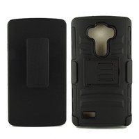 LG G4 Armor Belt Clip Holster Case Cover Black
