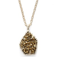 Women's Kendra Scott 'Catherine' Drusy Pendant Necklace