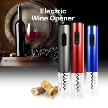 Electric Wine Bottle Opener  And Vacuum Stopper