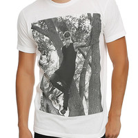 Justin Bieber In A Tree T-Shirt