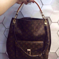 Louis Vuitton Metis Monogram Canvas Leather Hobo