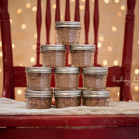 50 Winter/Fall/Autumn Artisan Gourmet Hot Chocolate Cocoa Wedding Favors (6 Flavor Add On Options)