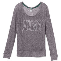 Army Slouchy Sweater - PINK - Victoria's Secret