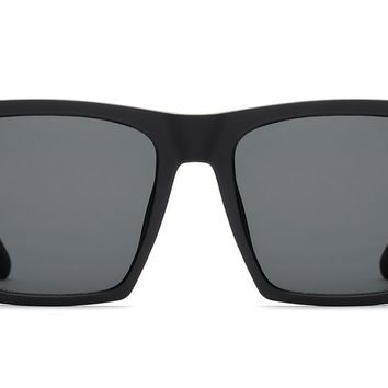 Quay Alright Black Sunglasses / Smoke Lenses