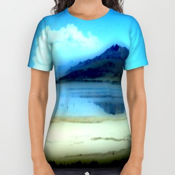 Antelope Island All Over Print Shirt by Jessica Ivy