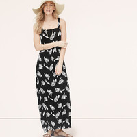 Summer Leaves Maxi Dress