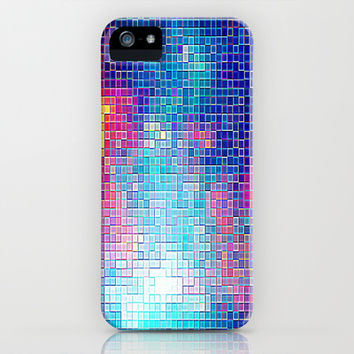 Colorful Cubed Sky iPhone & iPod Case by 2sweet4words Designs