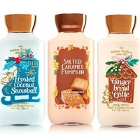 5 SET Bath & Body Works HOLIDAY Body Lotion 8 oz