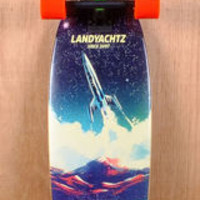 """Landyachtz 36"""" Bamboo Stout Outer Space Longboard Complete"""