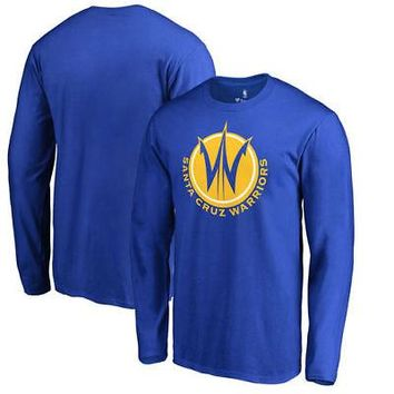 Licensed Sports Santa Cruz Warriors Fanatics Branded Primary Logo Long Sleeve T-Shirt - Royal KO_20_2