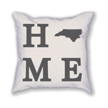 North Carolina Home State Pillow