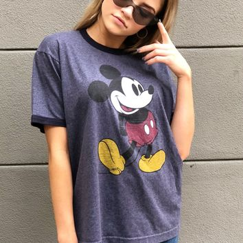 Navy Mouse Tee