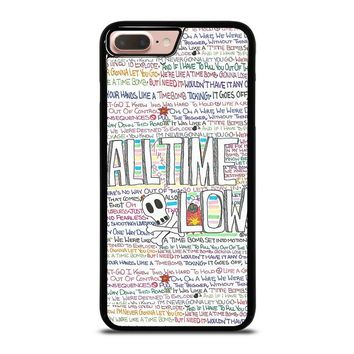 ALL TIME LOW WRITTING iPhone 8 Plus Case Cover